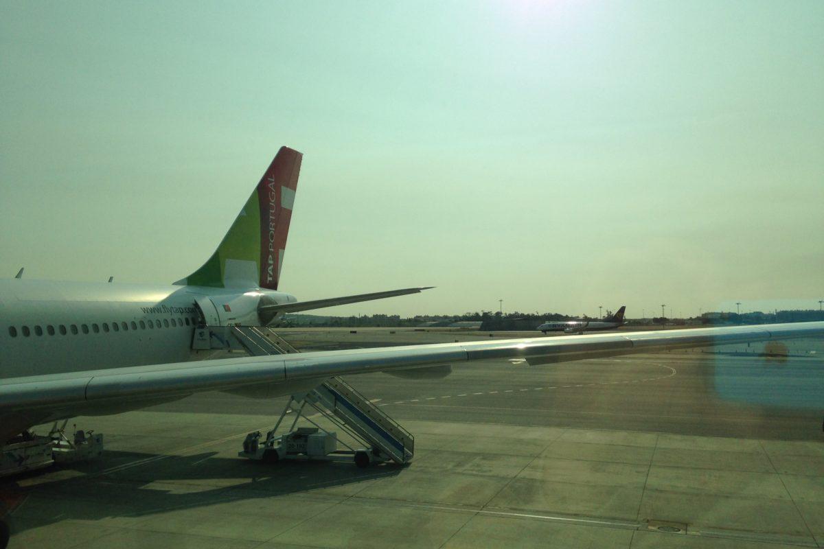 Sur une aile d'avion