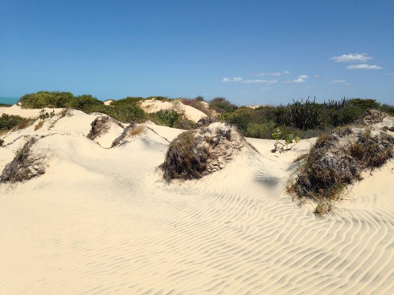 erosion sand